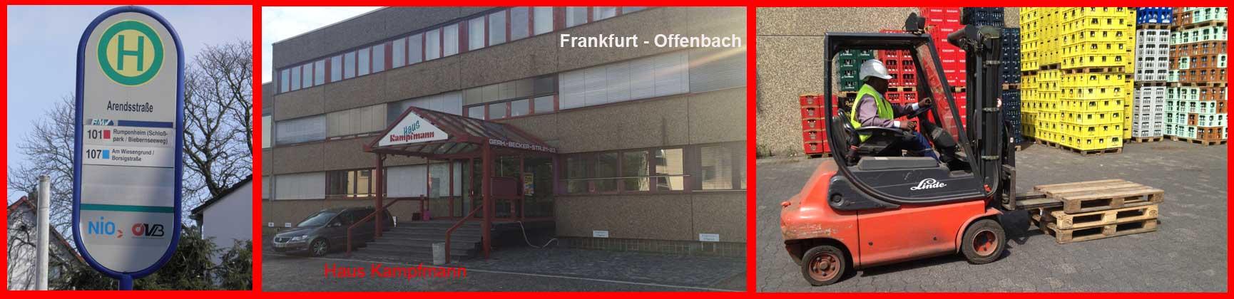 Seminarort für Staplerschein, Kranschein und Baggerschein in Frankfurt und Offenbach