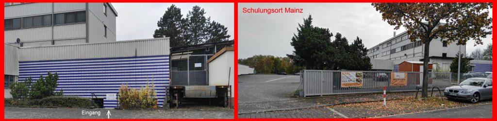 Schulungsort für Staplerschein, Kranschein und Baggerschein in Mainz