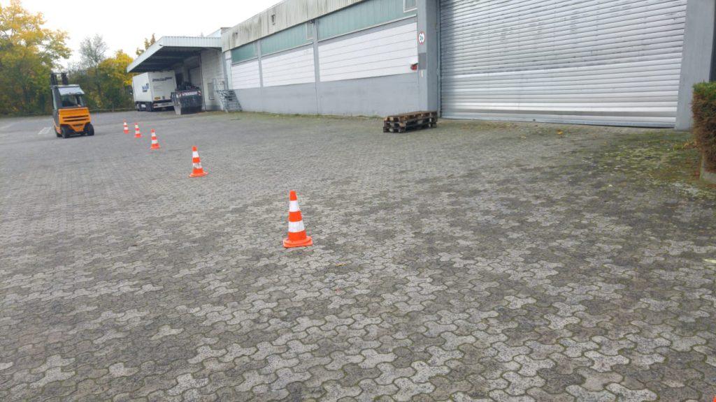 Staplerschein Praxis in Mainz